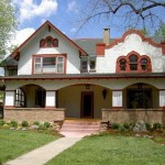 Historic residence, 943 Spruce St., Boulder Removed brick porch and rebuilt to original specs